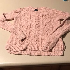Gap Kids XXL sz 14-16 pink cable sweater